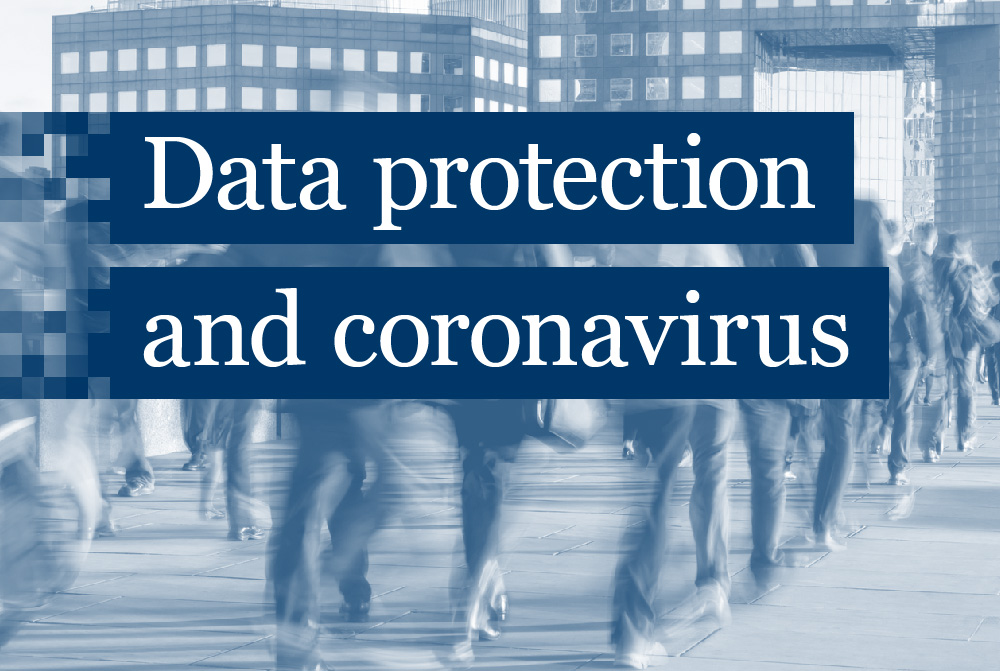 data protection and coronavirus
